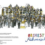 Orchester-Illustration